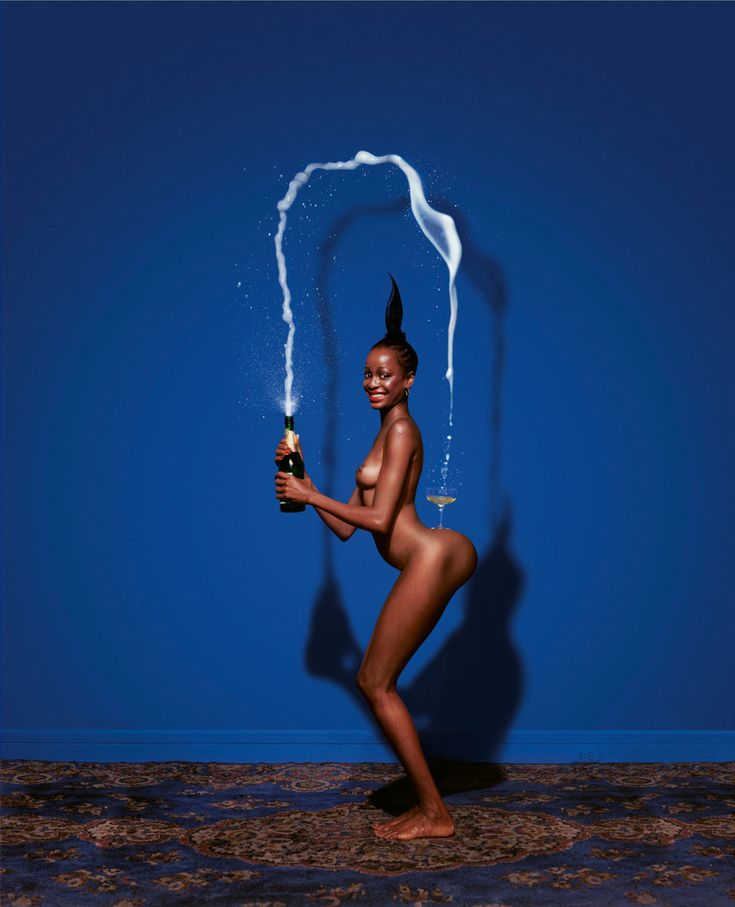 Big bottoms were great BEFORE Kardashian. This picture is the original taken by Jean-Paul Goude, who did the same shoot with Kim K a century later.