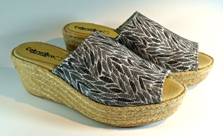 Yute wedges for freshness and comfort. MA-07