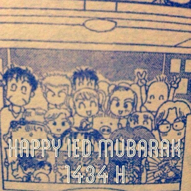 Happy Ied Mubarak 1434 H,Miiv! Mohon Maaf Lahir Dan Batin