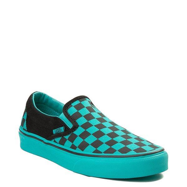Vans slip on, Skate shoes, Suede skate