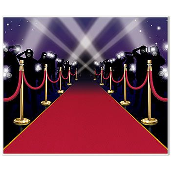 Our Red Carpet InstaMural gives you the look of walking down the red carpet with paparazzi all around.