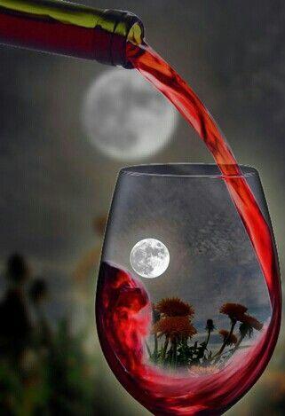 #Vinho #Taça #Reflexo