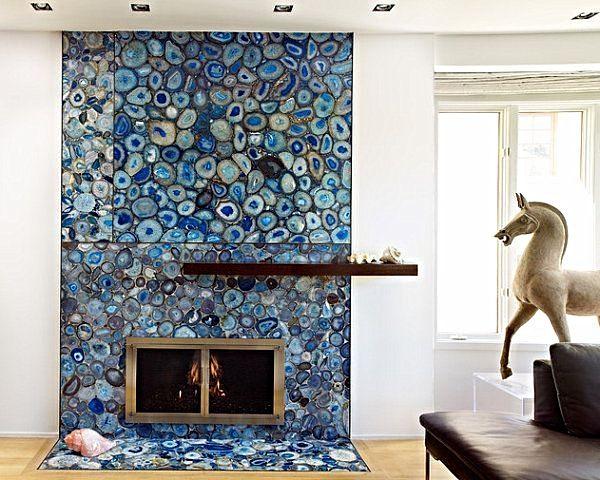 Feng Shui Displaying Crystal Living Room