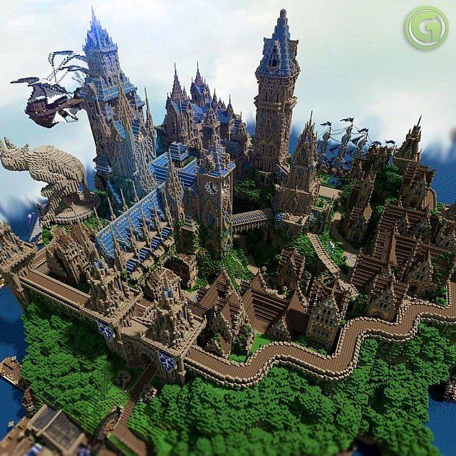 Halion Minecraft Medieval City Download