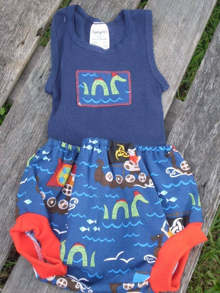 Size 0 Nappy cover and Matching Applique singlet. For the Lads Market Night opens at 9pm, on Tuesday 3rd June, 2014. The first person to comment sold will be able to purchase the item direct from the business listed on the item.