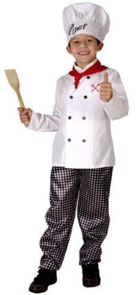Şef Aşçı Kostümü, Süperlüks 7-9 Y