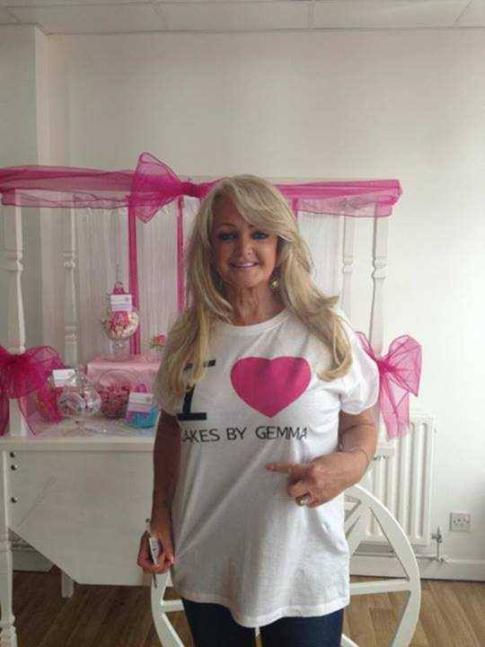 Grand Opening of Cakes By Gemma Brooks, 10/09/13 #BonnieTyler #CakesByGemma #SouthWales