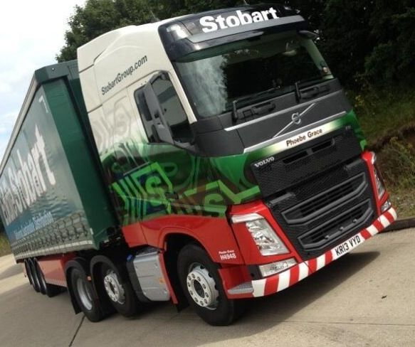 New Volvo FH: Phoebe Grace Got to love Eddie Stobart