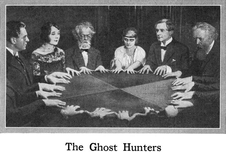 From Popular Mechanics, 1927. See Seance Parlor Feng Shui.