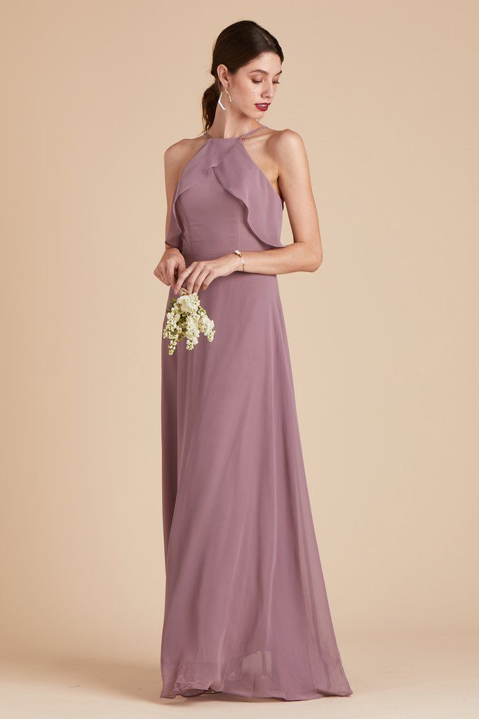 b4515807d251 Birdy Grey Bridesmaid Dress Under  100 - Jules Dress - Dark Mauve -  Lightweight Gown -