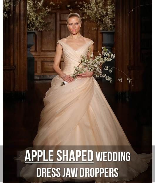 Figure Flattering Which Wedding Dress Style Suits Your: 139 Best Apple Figure Fashion Images On Pinterest