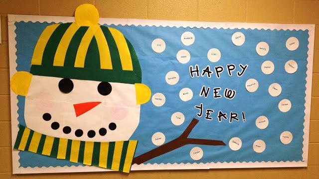 Classroom Pictures-Ready for January!, bulletin boards, january, teacher, classroom