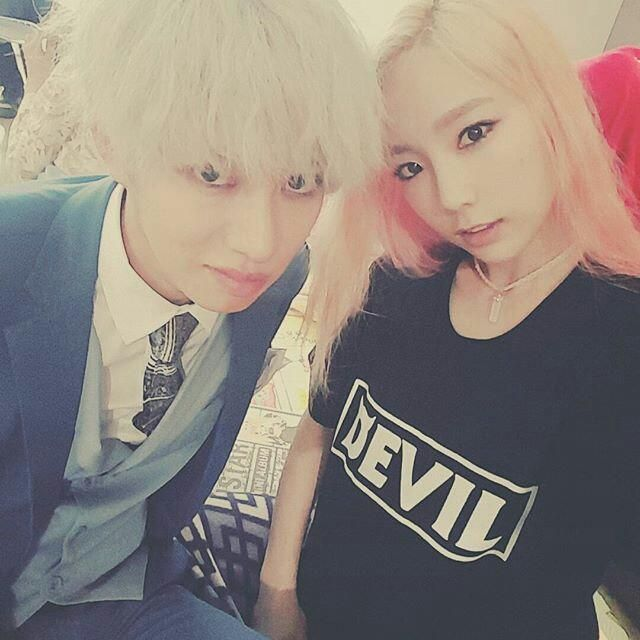 Taeyeon | Girls Generation (with HeeChul)