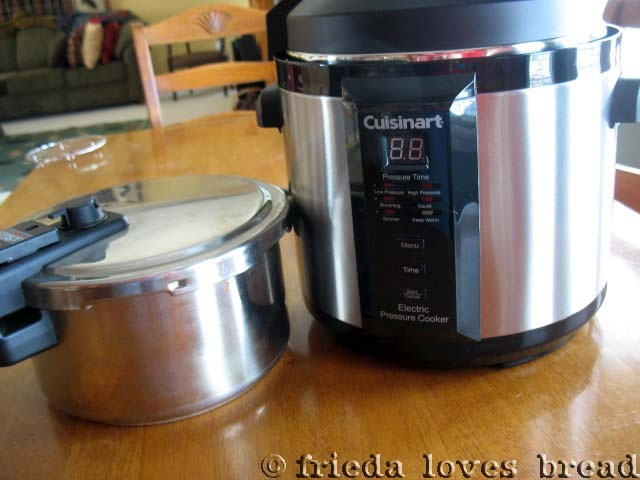 Frieda Loves Bread: Electric Pressure Cooking: Step One ~ Getting to Know Your Cooker