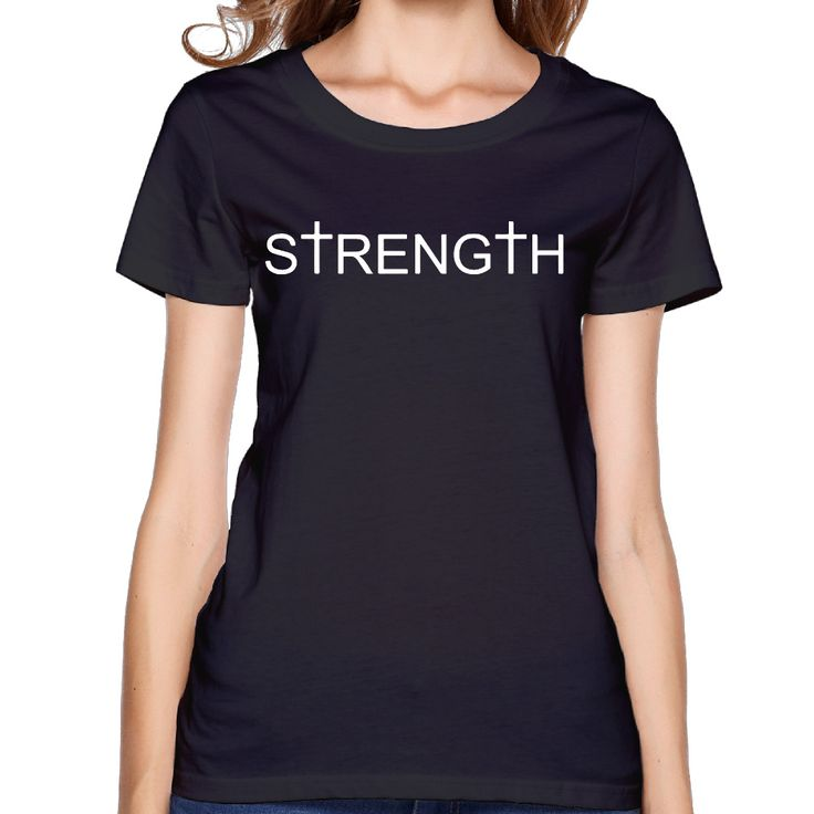 >> Click to Buy << 2017 Promises of Strength Printing Women  Premium Cotton T shirt  Funny Style  Design Summer Workout #Affiliate