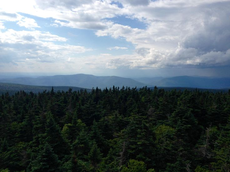 Glastenbury Mountain Vermont USA. View from a fire tower [OC] [3264 x 2448]