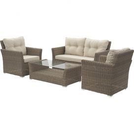4-Piece Mandalay Patio Seating Group