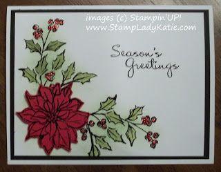 Watercolor Winter Christmas Card