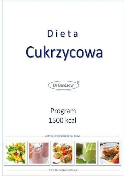 dieta cukrzycowa jadłospis 1500 kcal