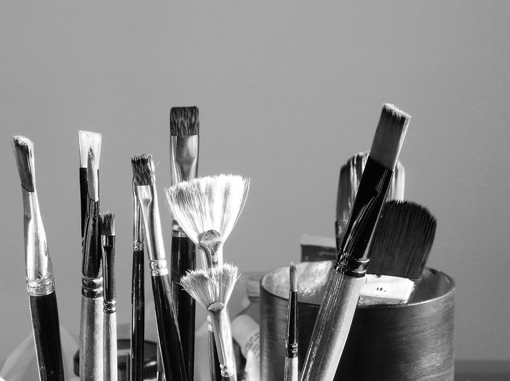 Photography Challenge Week 30: Family (without people). Brush Family - Creativity runs in families. Abstract Concept.