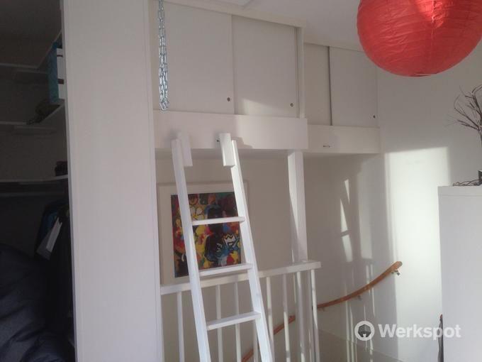 extra ruimte maken boven trapgat
