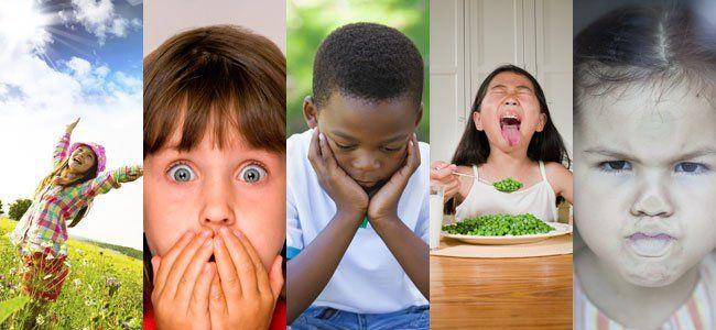Las emociones básicas de los niños
