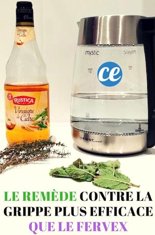 Plus Besoin de Fervex Contre La Grippe ! Utilisez Ce Remède Bien Plus Efficace.