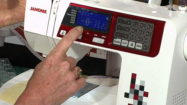 """Learn how to set your modern sewing machine to 1/4"""" seam allowance"""