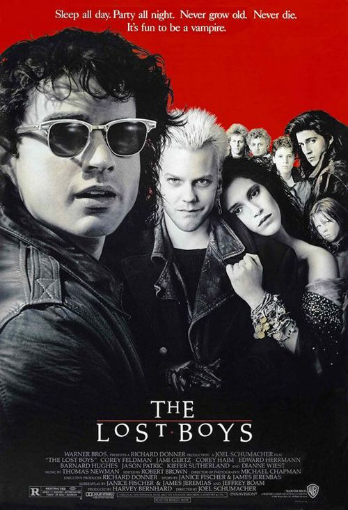 The Lost Boys ... One of the reasons I was so attracted to Santa Cruz Ca.