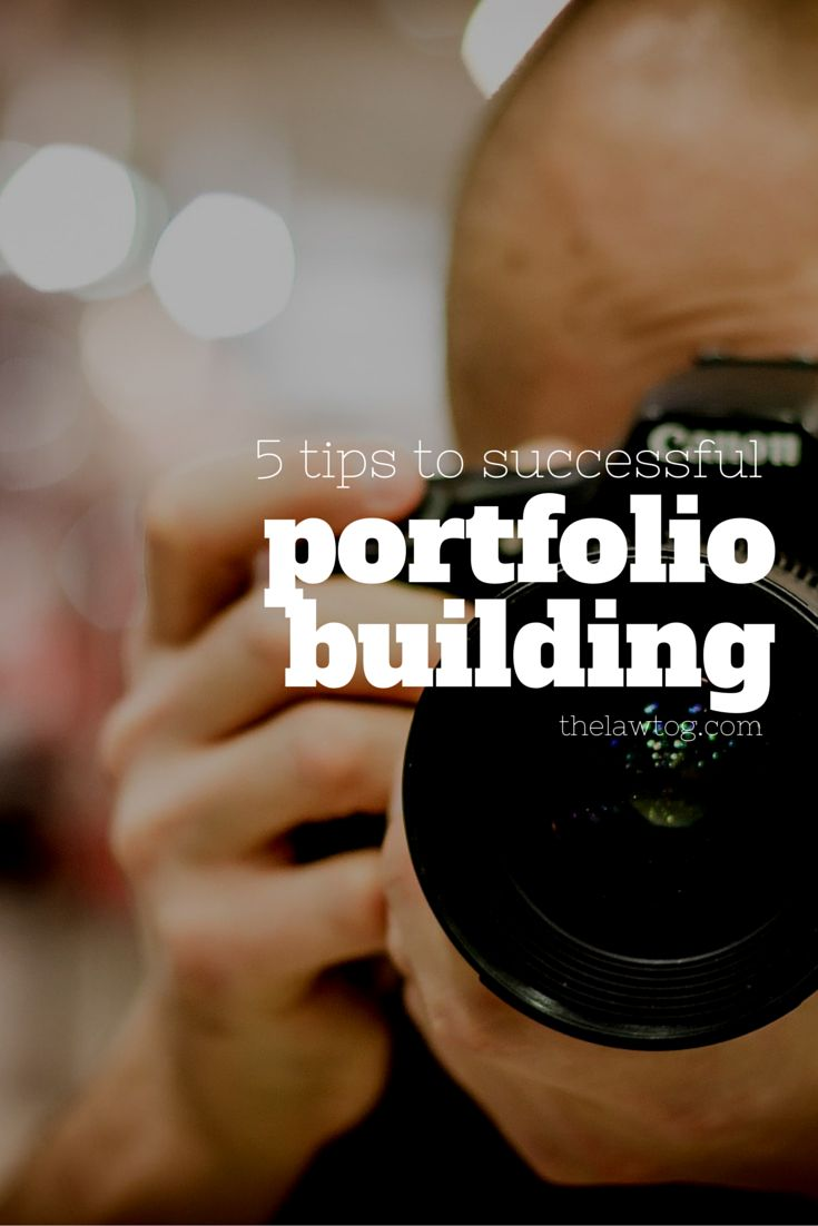 5 Tips to Successful Portfolio Building For Your Photography Business