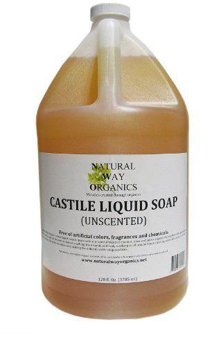 Natural Way Organics Ultra Mild Unscented Castile Soap