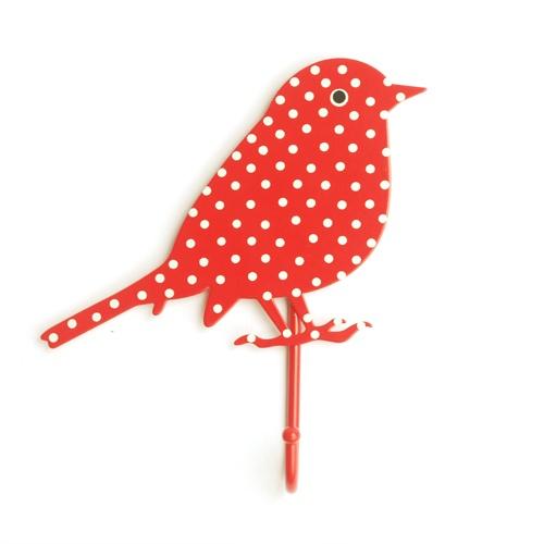 Bird Hook - Red Spots