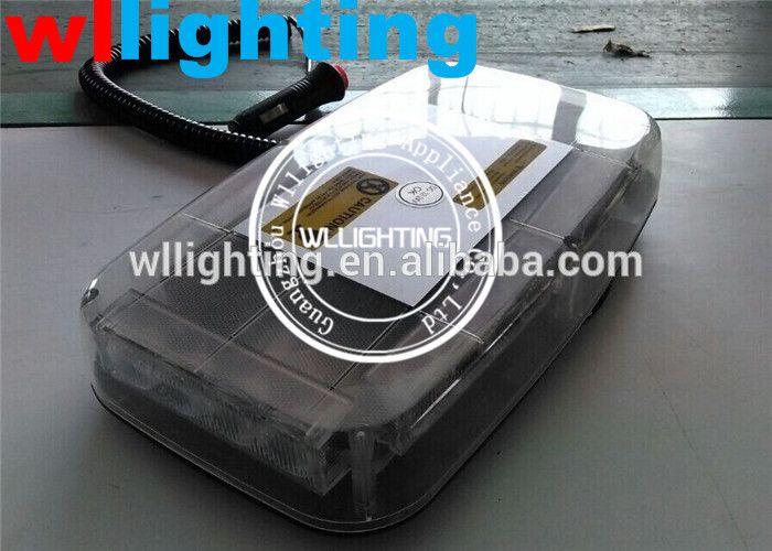 MAGNETIC LED LIGHTBAR EMERGENCY BEACON FLASHING DASH LIGHT 12v RECOVERY 360 DEG