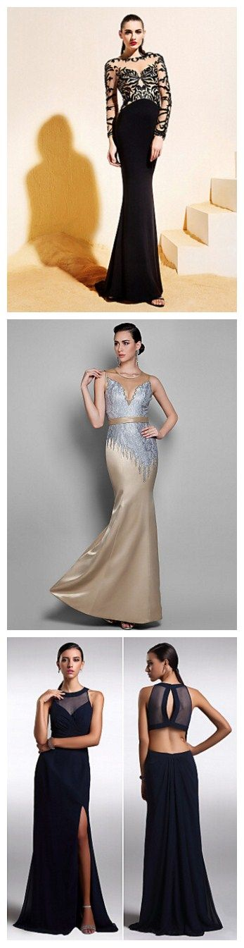 Love to add some mysteries for your coming 2016 prom season?Check our new collections of Floor-length Chiffon look through long prom dresses.