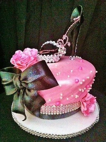 Sexy Stiletto Cake Birthday Cakes Pinterest Cake