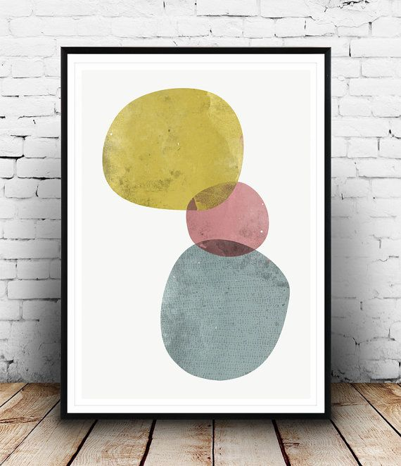 Watercolor print, Abstract art, Minimalist print, Abstract print, Abstract watercolor, nordic style, home decor, wall art, minimalist art,