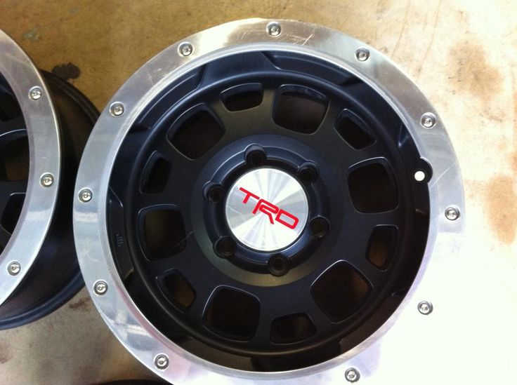 Toyota Tacoma TRD Black Beadlock Rims Find the Classic ...