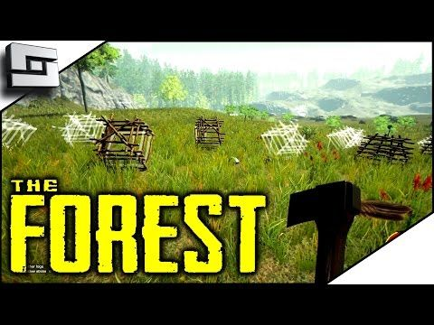 nice The Forest - TOO MANY RABBIT TRAPS! S2E12 ( Multiplayer Gameplay )