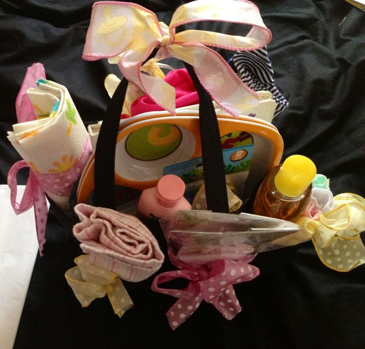Baby Shower Gifts For Sister ~ Big sister gift for baby shower cute caddy with lots of