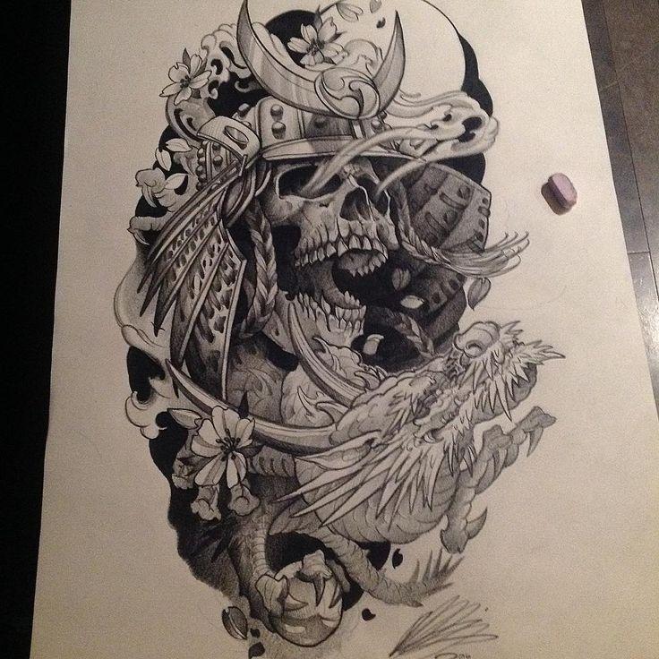Best 25+ Samurai Tattoo Ideas On Pinterest