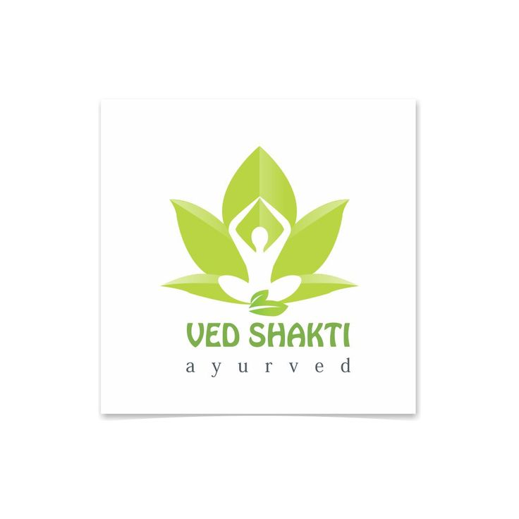 Logo Designing of Ayurvedh Company by Graphic Designer Vijay Deore
