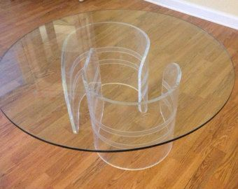 11 best lucite coffee tables images on pinterest | cocktail tables