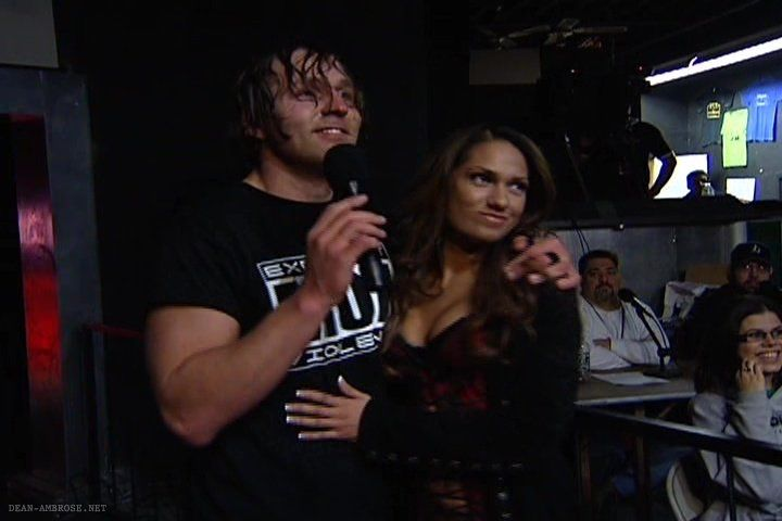 Jon Moxley and Reby Sky
