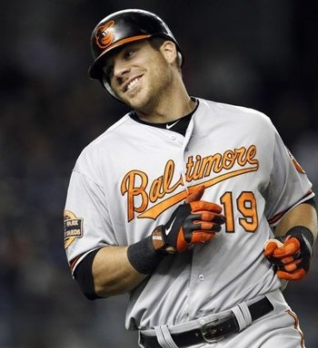 Chris Davis :)  There is just something so cute about baseball players..