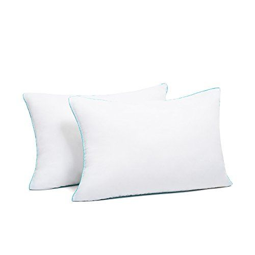 sleepy folks luxury bed pillows 2 pack down pillows cotton washable hotel pillows
