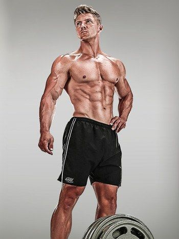What physique competitor Steve Cook eats to get his proportions just right.