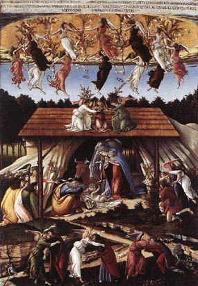 La nativité mystique de Sandro Botticelli
