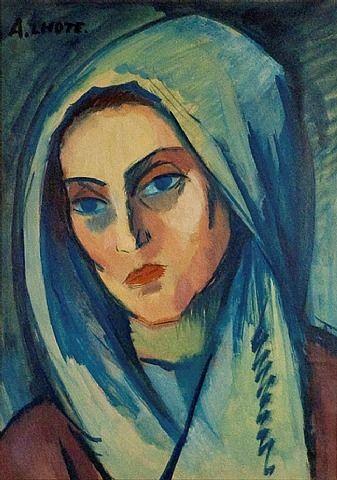 Portrait de Jeanne, 1908  André Lhote