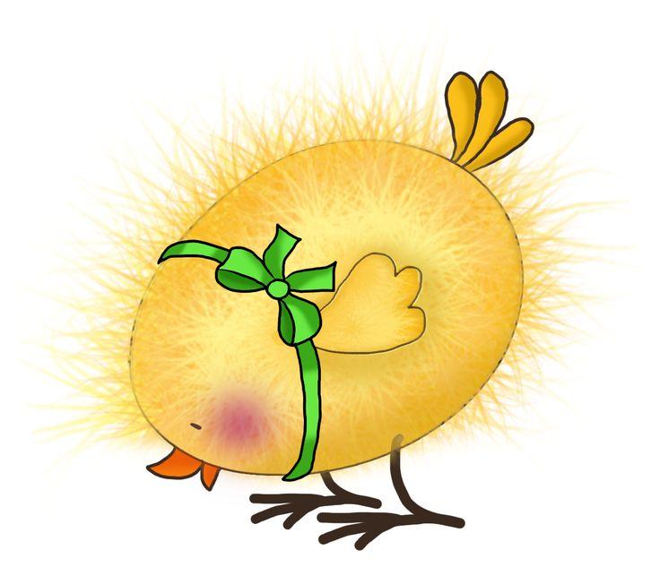 Доброго утра, прикольный рисунок цыпленка