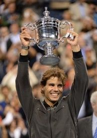 Rafael Nadal captured his second US Open title last year.